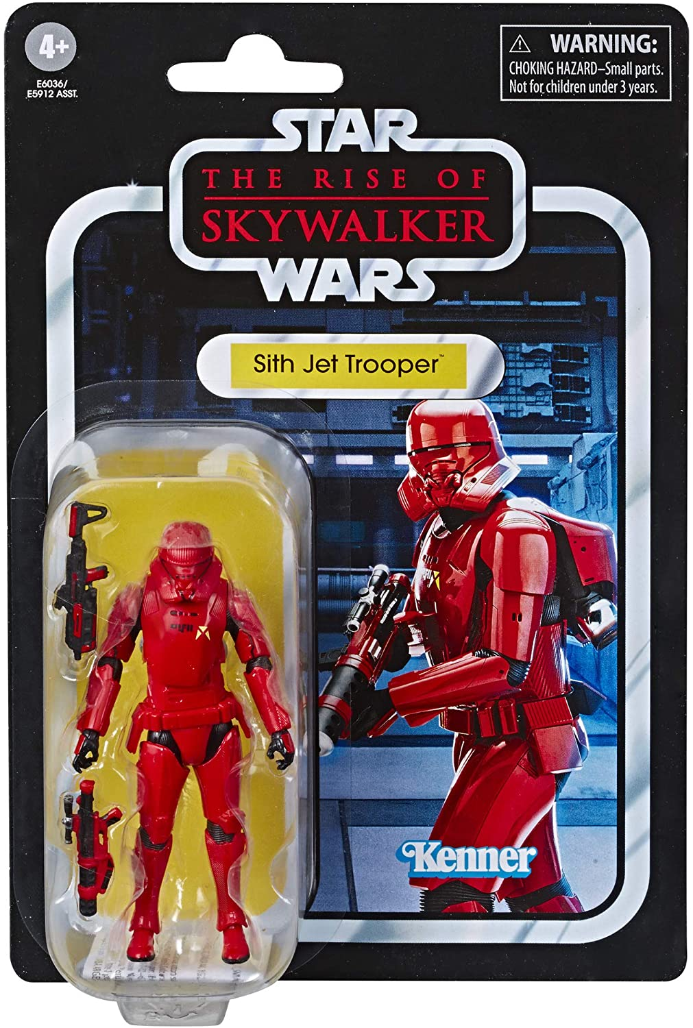 Star Wars The Vintage Collection The Rise Of Skywalker Sith Jet Trooper Action Figure Phantom Zone Comics