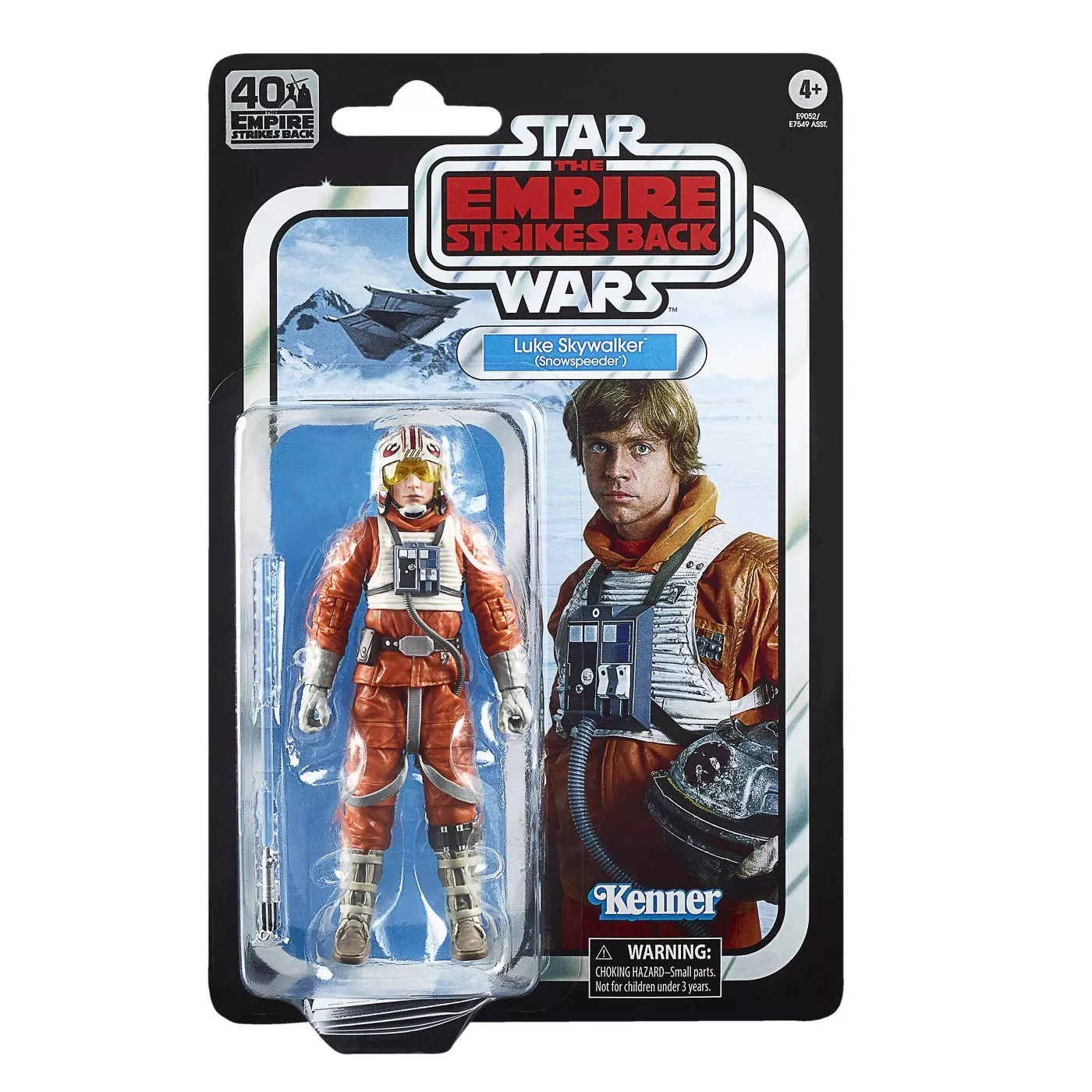 STAR WARS BLACK SERIES EMPIRE STRIKES BACK 40TH ANN WAVE 2 ACTION FIGURES