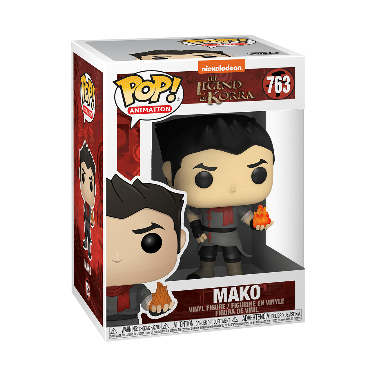 Legend of Korra Mako Vinyl Figure Animation Funko Pop